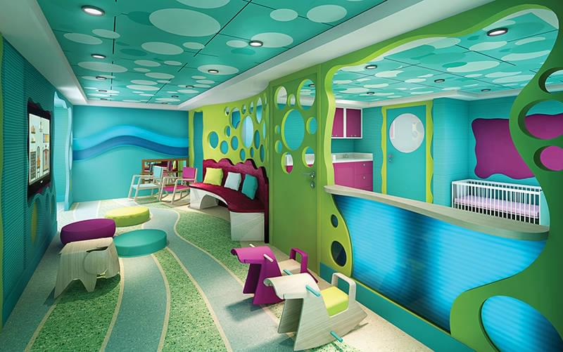 Guppies Play Area on the Norwegian Escape