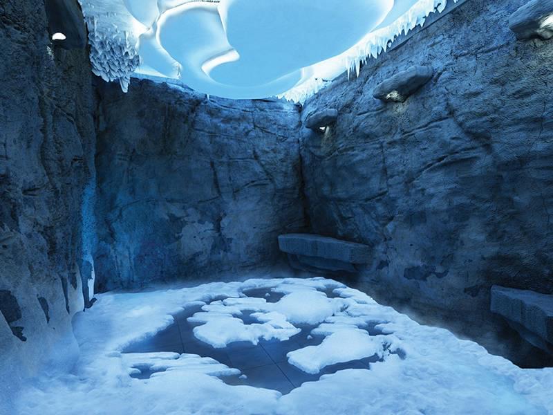 Norwegian Escape Snow Room