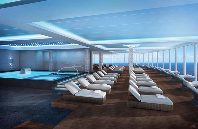 Norwegian Escape Spa