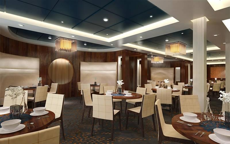 Savor Restaurant on Norwegian Escape