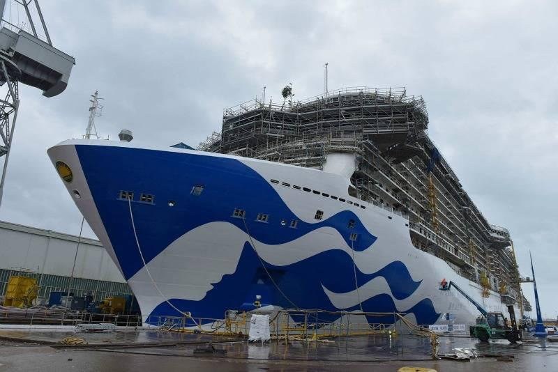 Princess cruises new hull design on Majestic Princess