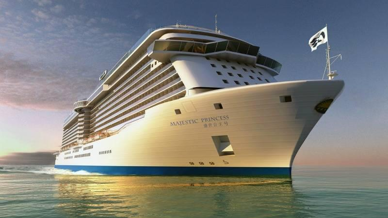 Majestic Princess Rendering