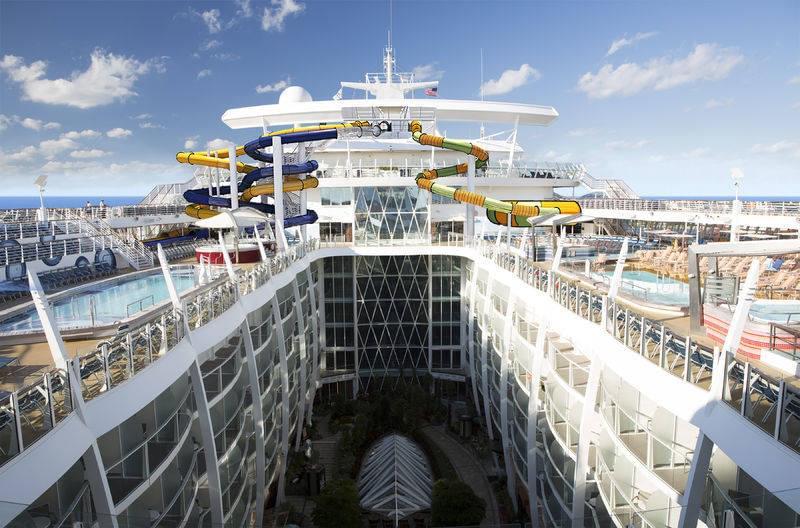 Slides on Harmony of the Seas