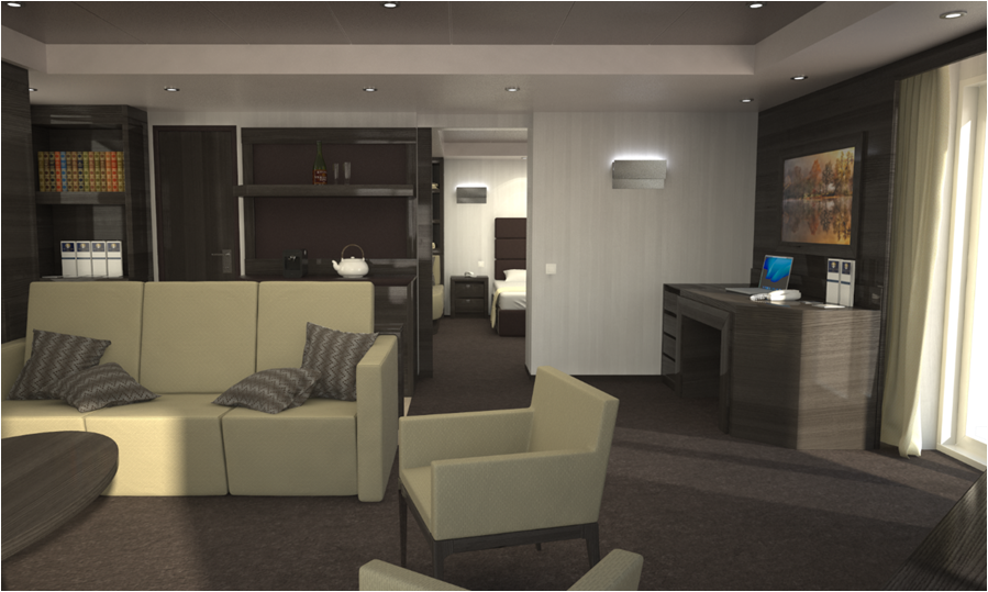 MSC Meraviglia Yacht Club accomodation