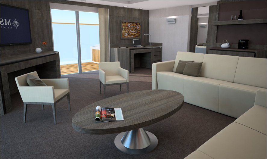 Yacht Club Suite on MSC Meraviglia