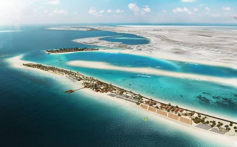 United Arab Emirates, Sir Bani Yas Island Beach Resort