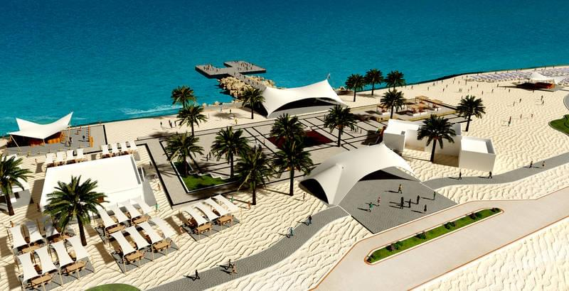 MSC Island Plaza on Sir Bani Yas