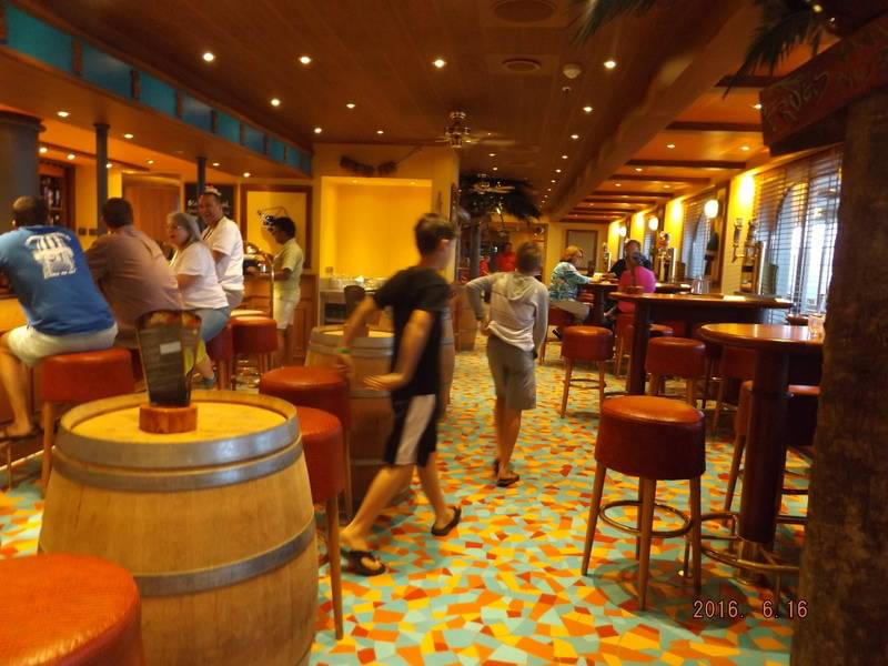 Carnival Vista Red Frog Pub