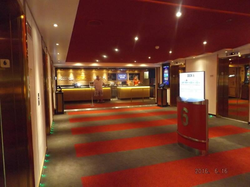Carnival Vista Cinema