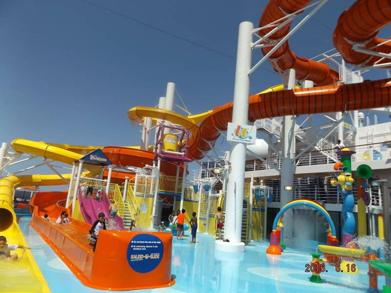 Kids Splash Zone on Carnival Vista