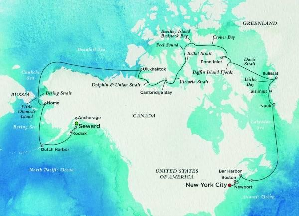 Crystal Cruises Northwestern Passage