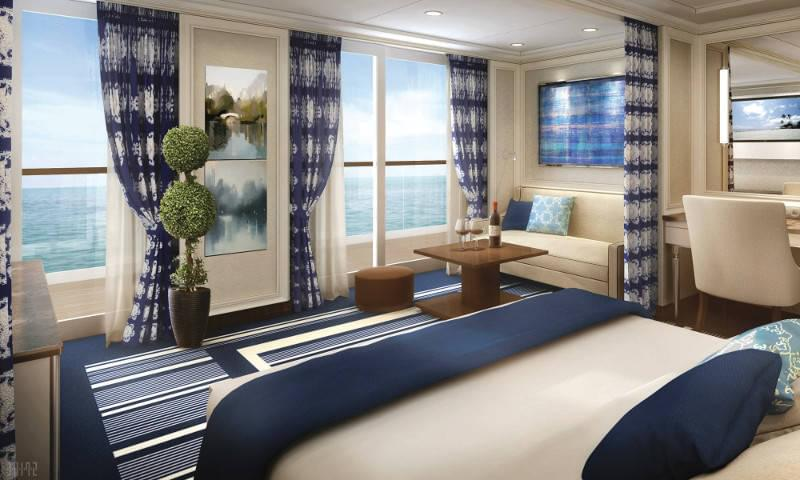 Regent Seven Seas Explorer Superior Suite