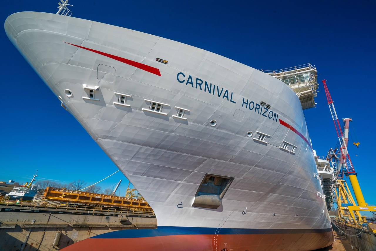 Carnival Horizon Construction