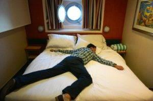 sleeping on a cruise