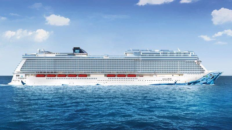 Norwegian Bliss side profile