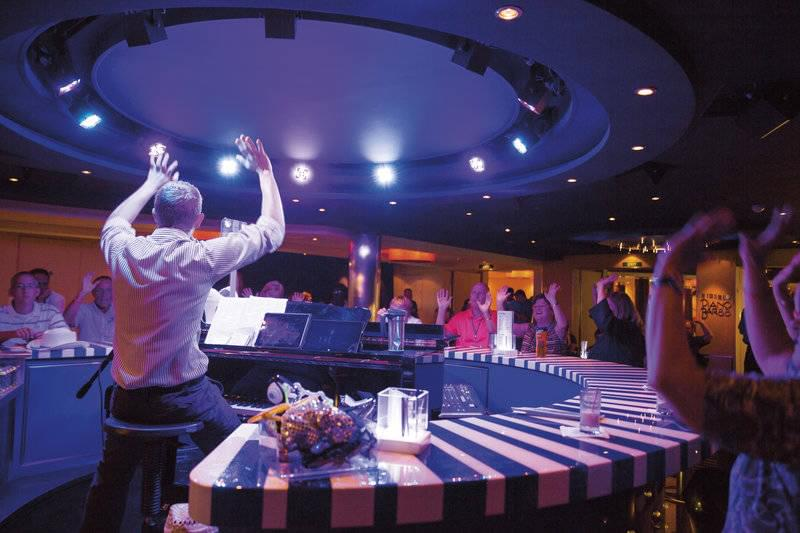 Carnival Cruises Piano Bar
