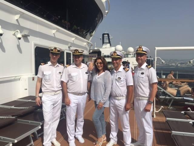 Cruising with Jane McDonald on the MSC Meraviglia