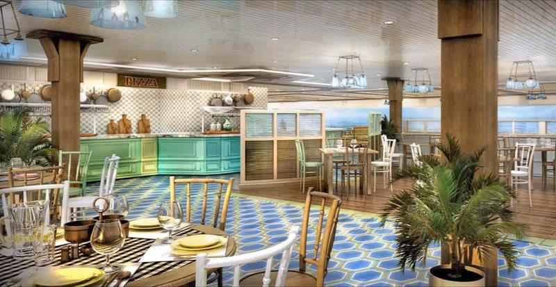 MSC Seaside Family Buffet