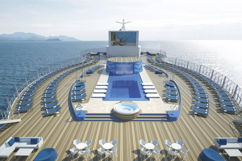 MSC Seaside Upper Pool