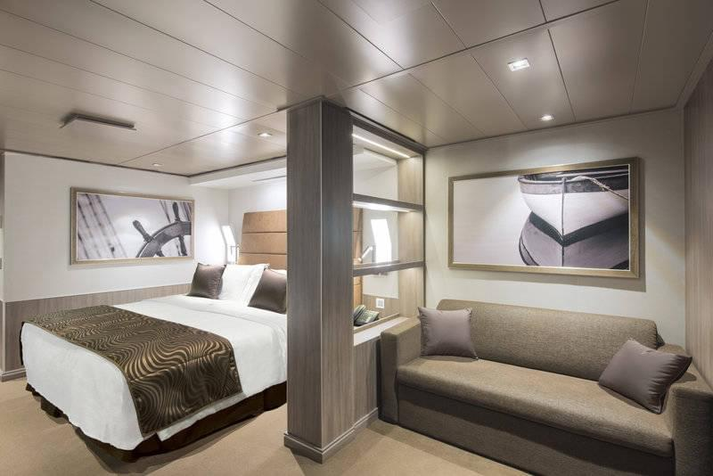 MSC Seaside Yacht Club Deluxe suite