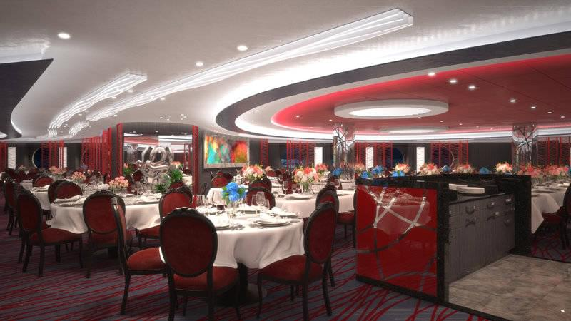 MSC Seaside Main Restaurant