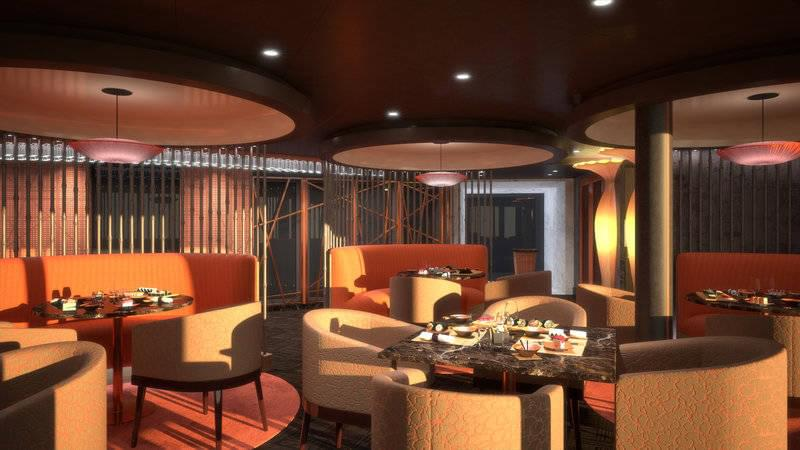 Pan Asian Restaurant on MSC Seaside