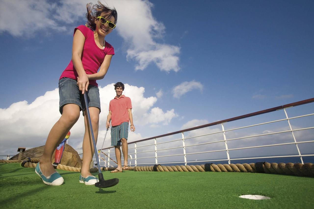 Kids Mini Golf Carnival